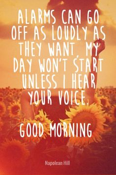romantic good morning sayings with images