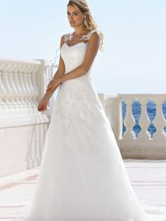 Explore the extensive collection of wedding dresses by Ladybird Bridal online. Affordable, stylish wedding dresses with the perfect fit for any figure. Bridal Wedding Dresses, Wedding Dress Styles, Dream Wedding Dresses, Designer Wedding Dresses, Bridesmaid Dresses, Tulle Wedding, Pretty Dresses, Beautiful Dresses, Perfect Wedding Dress