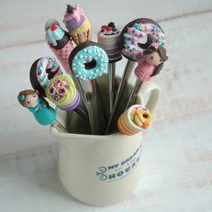 Полимерная глина и сладкие ложки - DishWishes