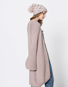 Giacca links manica a sbuffo - Maglia - Abbigliamento - Donna - PULL&BEAR Italia