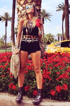 Inspiração Look de Festival: Coachella