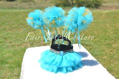 JASMINE INSPIRED TULLE WANDS - Party Favors, Decorations, Pom Pom Wands, Tutu Wands