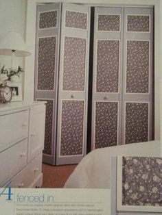 Cover closet doors