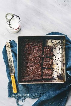 In the Kitchen With: Miyoko Schinner's Vegan Chocolate Cake, Brownies and Butter-less Butter