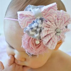 Baby Girl Headbands... Baby from BelleBandsBoutique on Etsy