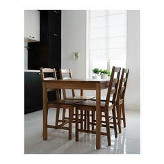 JOKKMOKK テーブル&チェア4脚, アンティークステイン