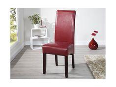 Krzesło Valentino I bordowe — Krzesła Invicta Interior — sfmeble.pl