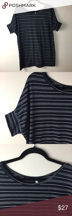3517d04c3704c Honey & lace small Tustin tunic navy striped Honey & lace / piphany small  Tustin tunic