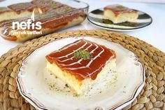 Orjinal Trileçe Pasta Recipes, Tiramisu, Cheesecake, Food And Drink, Pudding, Sweets, Cookies, Baking, Ethnic Recipes