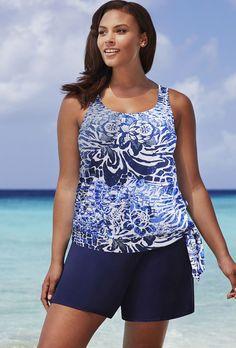 03a67901d2 Beach Belle 26-34 Maroubra Blouson Shortini Swim Dress
