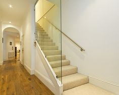 Basement Stair Rail Design, Pictures, Remodel, Decor and Ideas - page 7