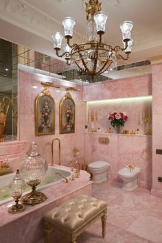 Dream House Interior, Dream Home Design, Home Interior Design, House Design, Dream Bathrooms, Dream Rooms, Pink Bathrooms, Bathroom Design Luxury, Bathroom Interior
