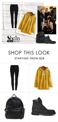 """""""Untitled #201"""" by missbijou ❤ liked on Polyvore featuring Dsquared2, Timberland and Sheinside"""