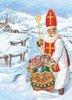 Happy St Nicholas Day In German >> 1000+ images about Čert & Mikuláš on Pinterest | Saint nicholas, Three sisters and A legend