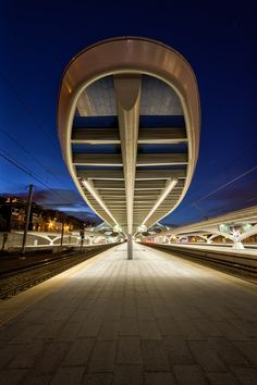 Trainstation Liège - Guillemins/ Santiago Calatrava