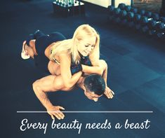 Every beauty needs a beast. Work out together this Valentine's Day weekend