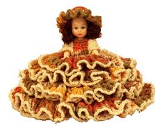 Bed Doll Crochet  I cherish the memories sitting with my Mother-in-law making these