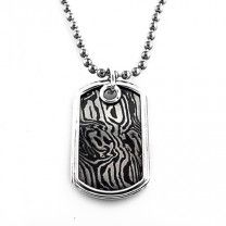 Timoku Sterling Silver LG Dog Tag