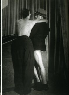 'One Suit For Two, Magic-City Homosexuals Ball' 1932 by Brassai Robert Doisneau, Brassai, City C, Diane Arbus, Moving To Paris, Magic City, French Photographers, Contemporary Photographers, Museum Of Contemporary Art
