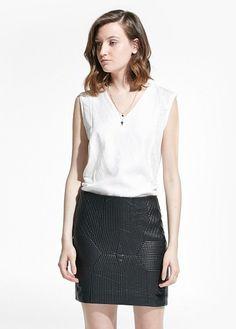 Jupes - Vêtements - Femme | MANGO Outlet France