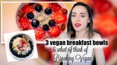 Delicious breakfast bowls you should try!