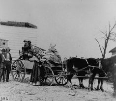 A refugee family leaving a war area with belongings loaded on a cart    http://www.archives.gov/research/military/civil-war/photos/images/civil-war-013.jpg
