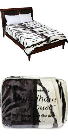 white tiger blanket