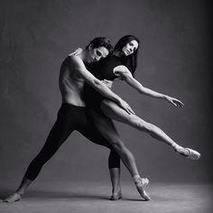 Etienne Lavigne and Greta Hodgkinson of the National Ballet of Canada. Photo: Karolina Kuras.