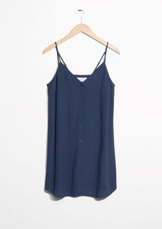 & Other Stories image 1 of Placket Dress in Blue