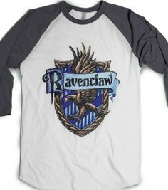 Ravenclaw Crest - Phantastique Boutique - Skreened T-shirts, Organic Shirts, Hoodies, Kids Tees, Baby One-Pieces and Tote Bags