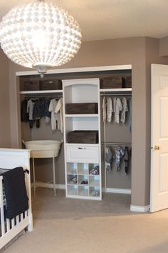 Nursery Closet, Baby Boy Room