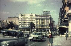 Athens 1966 Greece Pictures, Old Pictures, Nice Memories, Athens Greece, Once Upon A Time, Street View, Day, Photography, Greece