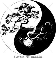 Image result for bonsai tree silhouette