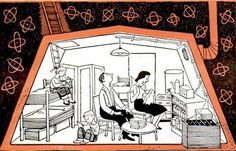 Steuart Pittman, head of the U. fallout shelter program, died earlier this month at age As a reminder of just how frightening the Cold War was, check out these old family-style bunkers from the pages of Popular Science. Underground Shelter, Underground Homes, Doomsday Bunker, Bomb Shelter, Atomic Age, Cold War, Fallout, Creepy, History