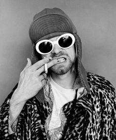 Kurt Cobain Tattoo, Photo And Video, Sunglasses, Instagram Posts, Style, Fashion, Swag, Moda, Fashion Styles