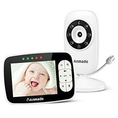 Baby Monitors Objective Motorola Mbp18 Baby Monitor audio Video Wall Mountable Zoom