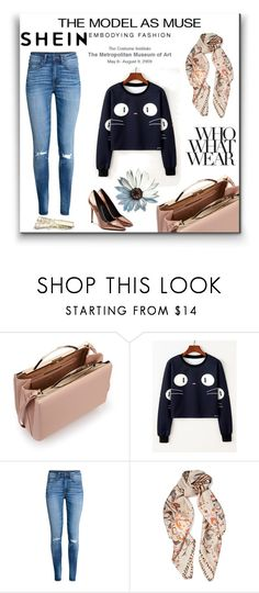 """""""shein hoodie"""" by almir-tahi ❤ liked on Polyvore featuring Eddie Borgo, H&M, Roberto Cavalli, Alexander Wang and Who What Wear"""