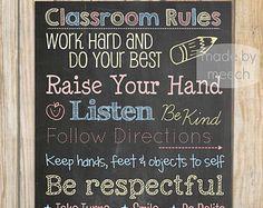 Teacher Classroom Decor-8.5x11 Classroom