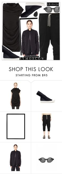 """""""DRKSHDW-SVMOSCOW"""" by teoecar ❤ liked on Polyvore featuring DRKSHDW and Bomedo"""