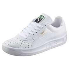 <p>In the late 1970s, tennis player and Argentine playboy Guillermo Vilas went on a title-winning rampage. Known for his one-handed backhand and smashing good looks, he paired with PUMA to create a line of tennis shoes that matched his winning style. Among them? The GV Special. And much like the man behind the legend, it quickly secured its rank: Icon.</p><p>Features:</p><ul><li>Leather upper with perf details at forefoot</li><li>Lace closure for a snug fit </li><li>Cushioned midsole for…