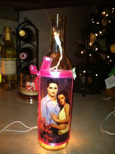Lighted Twilight Bottle by tete24 on Etsy, $17.00