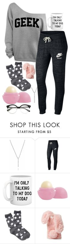 """We turn the music up tonight"" by sarah-rose-312205 on Polyvore featuring Astrid & Miyu, NIKE, Eos, Free Press and Ashlyn'd"