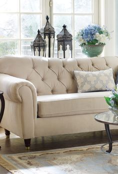 Love this beautiful sofa from Ethan Allen (Shelton Sofa, Springer ...