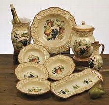 Artimino Tuscan Countryside Cream Dinnerware | Dillard\'s Mobile ...