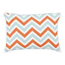 chevron pattern accent pillow