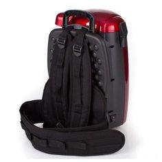 GV 8 Quart Hepa BackPack Vacuum Straps, Black