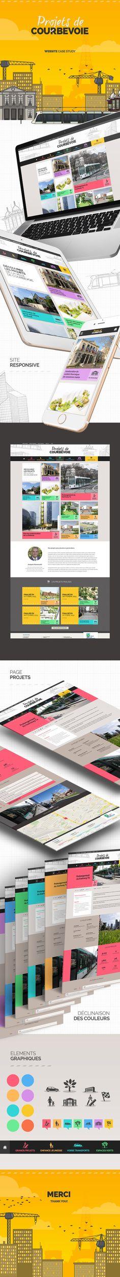 Projets de Courbevoie - Gweno - Graphiste, Motion et Web designer à Rennes