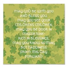 irish+sayings+and+blessings | Irish Wedding Blessing by vintagemaddness