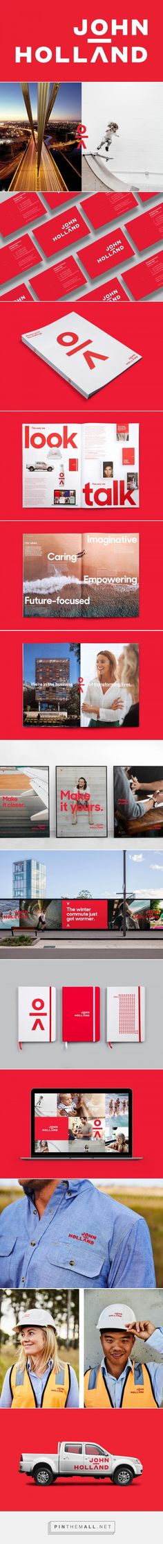 Brand New: New Logo and Identity for John Holland by Frost* Design... - a grouped images picture - Pin Them All