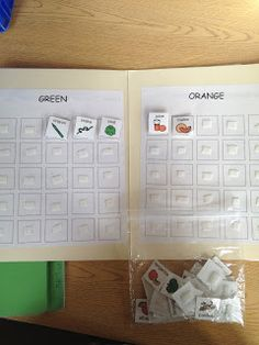 The Autism Tank: Work Task Tuesdays- Sorting by Color